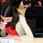 Alumnos de Secundaria miden en la UCLM su capacidad olfativa y gustativa