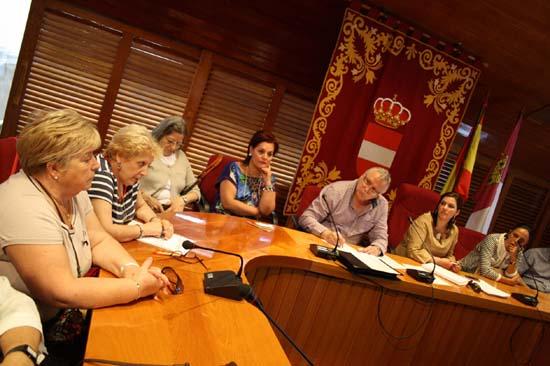 Una reunión del Consejo de Participación Ciudadana de Puertollano