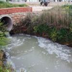 El río Záncara y el acuífero están infestados por las aguas fecales de Campo de Criptana