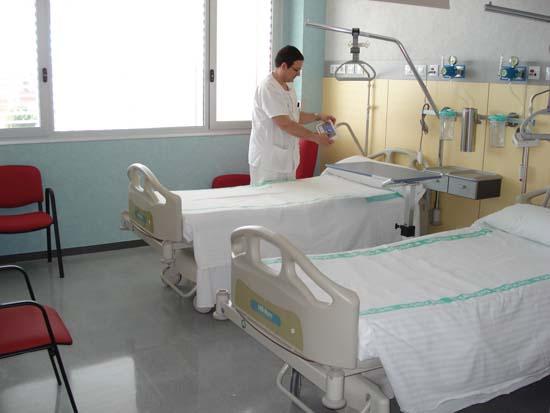 Habitación de hospitalización Mancha Centro