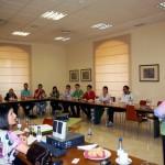"""Pilar Gómez Acebo cierra los """"Café con Líderes"""" del Programa LIDERA de Horizonte XXII Globalcaja y la UCLM"""