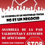 La PAH de Valdepeñas inicia su andadura: atenderá a los afectados todos los viernes