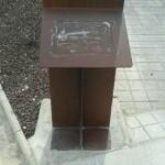Ciudad Real: Desaparece la placa conmemorativa de la rotonda del helicóptero cuando no han pasado ni 24 horas de su inauguración