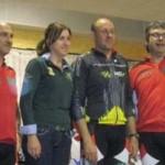 224 ciclistas participaron en la VIII Ruta Cicloturista Calatrava La Vieja en Carrión de Calatrava