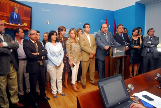 Rueda de Prensa Martínez Guijarro_Reforma Estatuto de C-LM_270613
