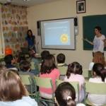 Alcázar: Enfermeras del Mancha Centro conciencian a los escolares sobre los efectos nocivos del sol en la piel