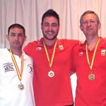 Medalla de plata para Gabriel Moya en la Copa de SSMM del Rey y la Reina de Tiro Olímpico
