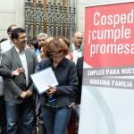Alcaldes socialistas de toda la provincia exigen a Cospedal la puesta en marcha de un plan de empleo