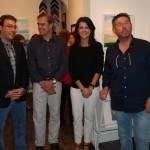 El artista Arun Roy vuelve a exponer en Alcázar a través de la Galería Marmurán