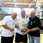Los Hermanos Gavilán Molina, jugadores aficionados de pádel, campeones de España en el torneo Intercomunidades celebrado en Benidorm