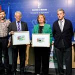 Soriano presenta los cupones de la ONCE dedicados a dos Parques Naturales de la región