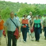Los mayores de Daimiel se van de senderismo a Las Lagunas de Ruidera