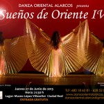 Danza Oriental Alarcos presenta en el Museo López Villaseñor el espectáculo Sueños de Oriente IV