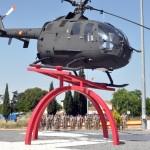 """Ciudad Real: Rosa Romero afirma que la rotonda del helicóptero ha sido """"muy importante, admirada y reconocida por todos"""""""