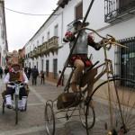 El domingo Don Quijote y Sancho volvieron a caminar por el antiguo y conocido Campo de Montiel