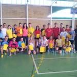 JORA y el concejal de Deportes clausuran el curso de monitor de deportes alternativos organizado por el colectivo Jóvenes Rabaneros