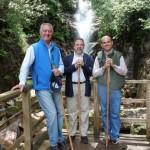 El delegado del Gobierno destaca que el Parque Nacional de Cabañeros cuenta con once empresas adheridas a la Carta Europea de Turismo Sostenible