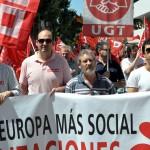Ciudad Real: Los sindicatos reclaman a la Unión Europea el fin de los recortes