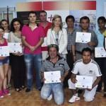 Ciudad Real: Lola Merino entrega los diplomas a los alumnos del curso de creación de microempresas