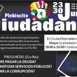 Ciudad Real: Organizan un referéndum contra los recortes y la corrupción
