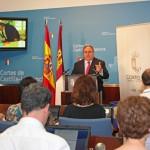"""El presidente de las Cortes de Castilla-La Mancha califica estos dos primeros años de legislatura como """"intensos, ilusionantes y fructíferos"""""""