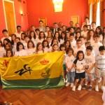 El Ayuntamiento ofreció  una recepción oficial al Club Natación Tomelloso