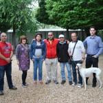 Usarios del CRPSL colaboran en el cuidado de animales del albergue municipal de Tomelloso