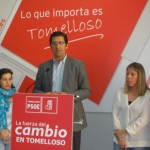 Caballero (PSOE) califica de «fracaso» de Cospedal y Cotillas que no se privatice Hospital de Tomelloso