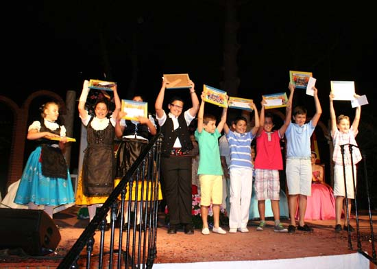 villarta premiados olimpiada infantil de la diputacion