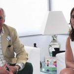 Rosa Romero se reúne con el decano del Ilustre Colegio de Abogados de Ciudad Real