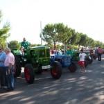 Daimiel: 40 vehículos han participado en el octavo desfile de tractores antiguos