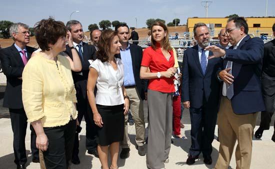 Cospedal inaugura la ETAP de Campo de Montiel2