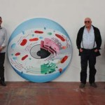 """Valdepeñas: La pintura """"To the nucleus"""" de Tania Blanco, medalla de oro de la 74 Exposición Internacional de Artes Plásticas"""