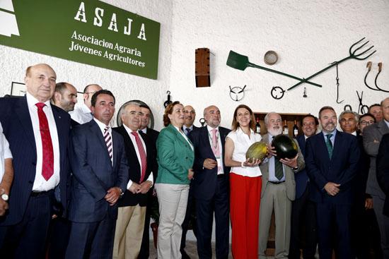 Cospedal y Cañete visitan 53 edición de Fercam. Foto Juan Echagüe/jccm