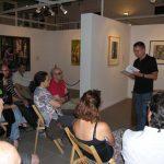Lorenzo Oliván deleita al público infanteño con poemas y aforismos