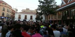 Concentración del pasado domingo en Bolaños