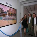 Villanueva de los Infantes: La artista Ouka Leele inaugura la Obra del Mes en el Museo 'El Mercado'