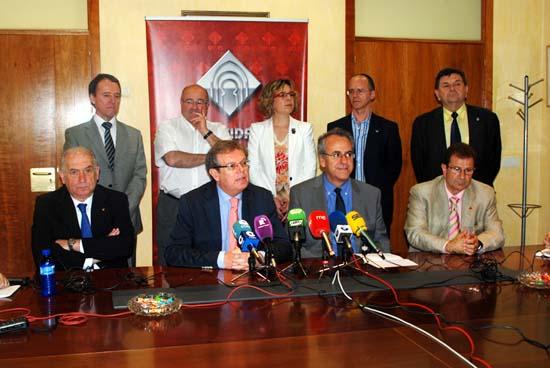 Reunión rectores G9-rueda de prensa