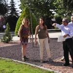Ciudad Real: Romero revisa el resultado de las obras de las rotondas de la Lágrima y Estación del Ave