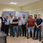 Reunión de autónomos y empresarios del transporte de mercancías en Socuéllamos