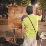 Alcázar celebra el XIII Certamen nacional de pintura rápida nocturna Ángel Lizcano Monedero