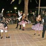 'Balálita' homenajeó a san Juan de ávila y a los voluntarios del año jubilar durante el XXXV Festival de 'La Mancha Baja' celebrado el sábado en Almodóvar