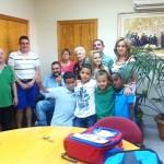Familias solidarias de Argamasilla de Calatrava acogen ya a los niños saharauis llegados desde el desierto argelino gracias a 'Vacaciones en Paz'