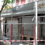 El Ayuntamiento de Ciudad Real acordona un inmueble en la Plaza de Cervantes ante el riesgo de desprendimientos