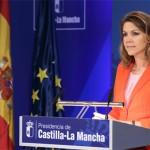 """Cospedal recuerda que Castilla-La Mancha tenía un sistema sanitario """"al borde de la quiebra, salvado sin cerrar ningún centro ni hospital"""""""