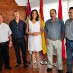 La alcaldesa de Ciudad Real se reúne con José María Terriza, el próximo pandorgo
