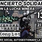 Ciudad Real: La Purga acogerá un concierto en solidaridad con la lucha minera
