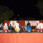 La Plaza de España acogió el  XVII Festival Nacional de Folklore «Ciudad de Daimiel»