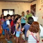 """Decenas de niños ilusionados disfrutan con """"Valorarte"""" en Herencia, acompañados de los artistas de """"El Picazuelo"""""""