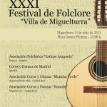 Aragón y Madrid, las regiones invitadas al XXXI Festival Nacional de Folclore Villa de Miguelturra